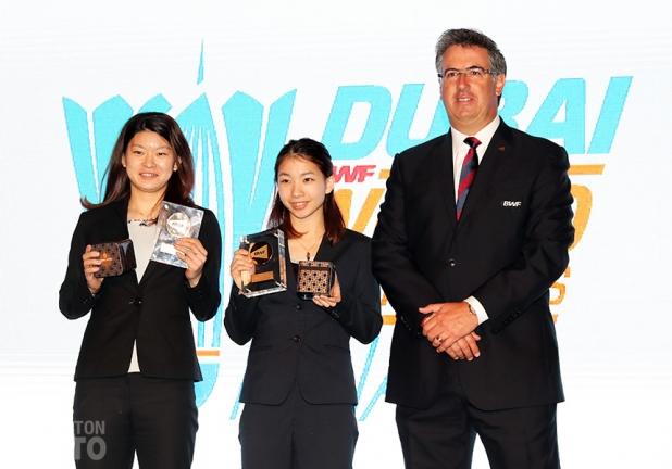 Ayaka Takahashi / Misaki Matsutomo, Female Players of the Year