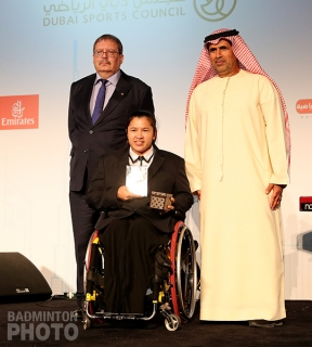 Amnouy Wetwithan - Female Para-Badminton Player of the Year