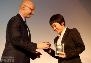 Chen Qingchen - Female Player of the Year