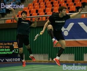 Korea Masters QF 8600