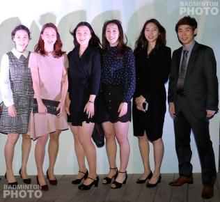 Team Korea at Superseries Finals Gala Dinner 2017