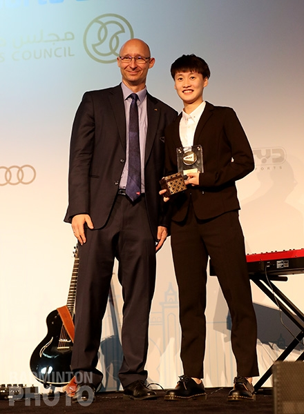 Chen Yufei - Eddy Choong Most Promising Player of the Year
