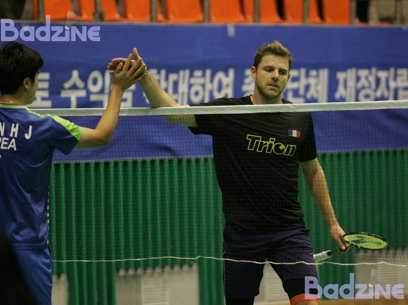 Korea Masters QF 8550