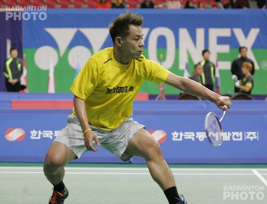 SU5 Men's Singles gold medallist Cheah Liek Hou (MAS)