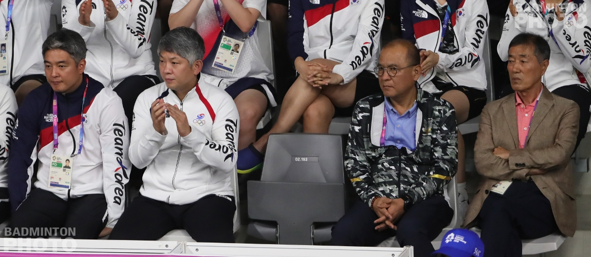 Korean coaches at the 2018 Asian Games