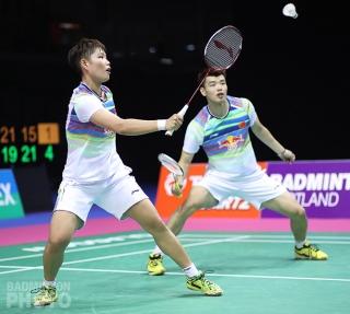 Huang Dongping and Wang Yilyu