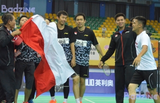 Saputro-Setiawan at BAC Team Finals