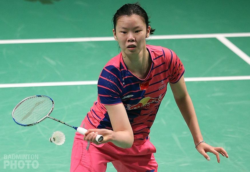 Li Xuerui at the 2016 Australia Open