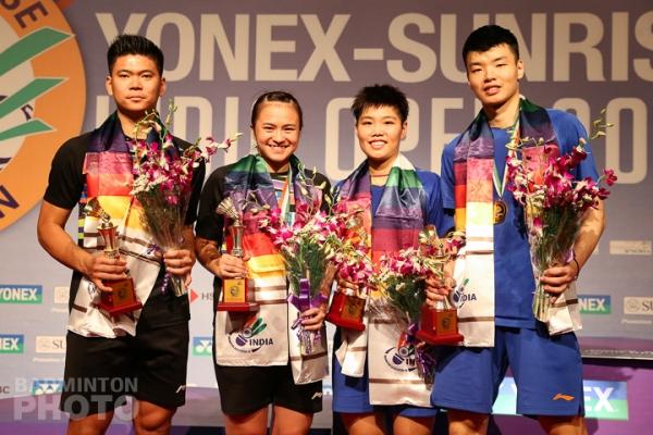 Praveen Jordan / Melati Daeva Oktavianti, Huang Dongping / Wang Yilyu