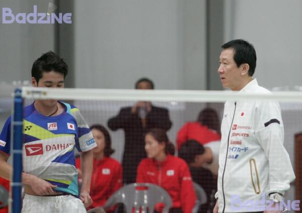 Kanta Tsuneyama (JPN) with Head Coach Park Joo Bong