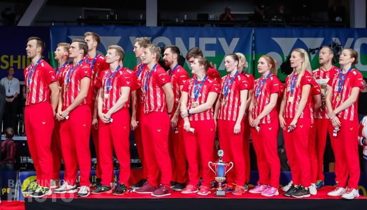 Team Denmark at the 2019 European Mixed Team Championships