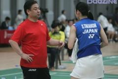 Choi Sang Beom with Sayaka Takahashi (JPN)
