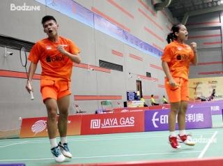 Indonesia Mixed Doubles Rinov Rivaldy/Siti Fadia Silva Ramadhant