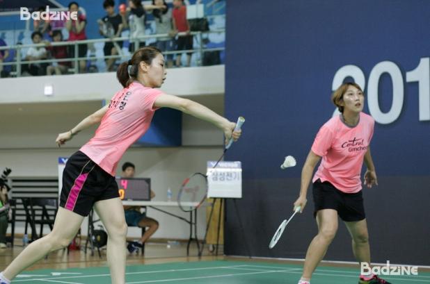 Jung Kyung Eun and Lee Hyo Jung (Gimcheon City Hall)