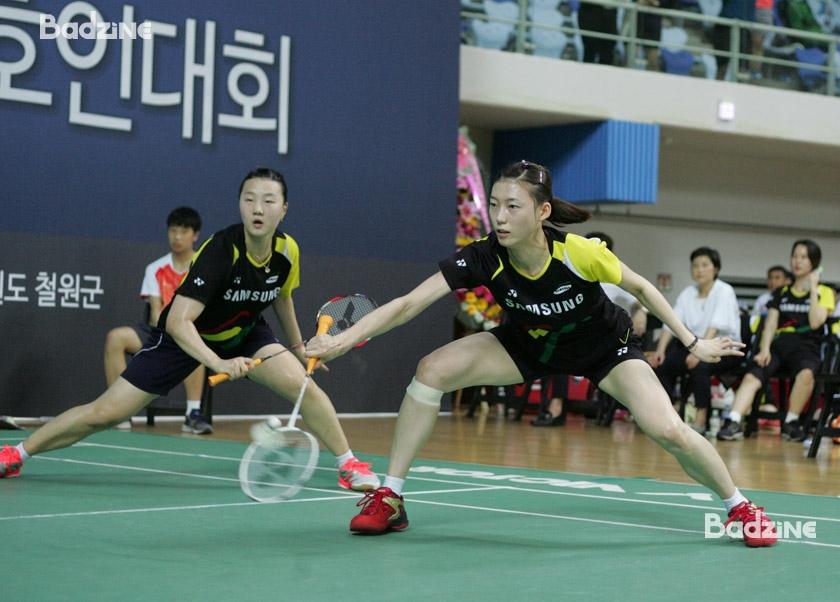 Kim Ha Na and Shin Seung Chan (Samsung Electromechanics)