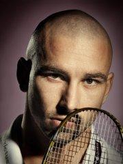 Praha, 5.11.2010,Petr Koukal badmintonový hráè FOTO: MFDNES- NGUYEN PHUONG THAO