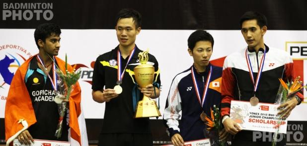 Siril Verma, Lu Chia Hung, Koki Watanabe, Adulrach Namkul