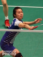 Tian Qing at the Indonesia Open