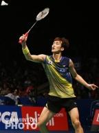 Shin Baek Cheol at the Indonesia Open