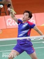 Kim Sa Rang at the Rio Olympics