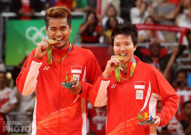 Tontowi Ahmad / Liliyana Natsir (INA, Gold)
