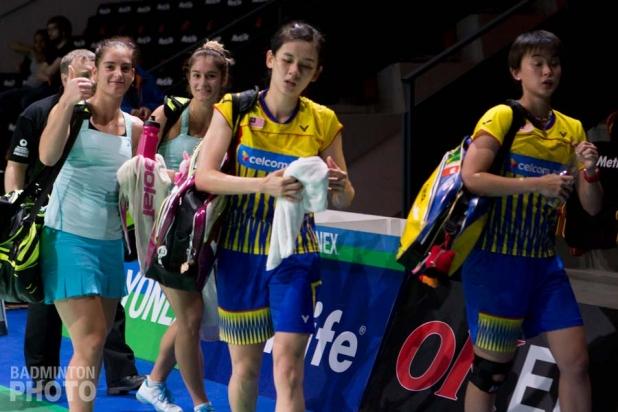 Stefani Stoeva / Gabriela Stoeva (BUL); Woon Khe Wei / Vivan Hoo (MAS)
