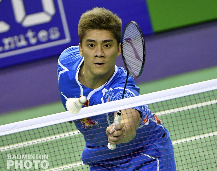 Fu Haifeng at the French Open © Antoine Roullet