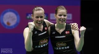 Kamilla Rytter Juhl and Christinna Pedersen