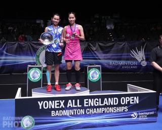 2017 All England winner Tai Tzu Ying and runner-up Ratchanok Intanon