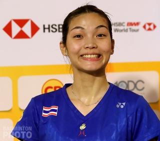 2018 Thailand Masters winner Jongkolphan Kititharakul
