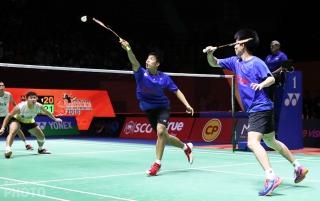 Thailand Masters champions Tinn Isriyanet and Kittisak Namdash