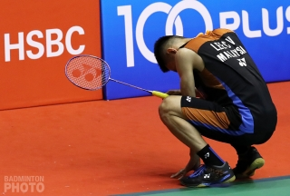 Lee Chong Wei at the 2018 Malaysia Masters