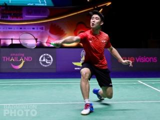 2019 Thailand Masters winner Loh Kean Yew