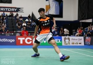 Lin Chun Yi en route to winning the 2019 U.S. Open