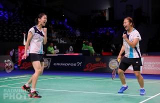 Jung Kyung Eun and Baek Ha Na winning the 2019 Denmark Open