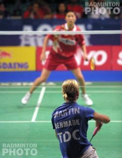 Camilla Martin at the 2002 Indonesia Open