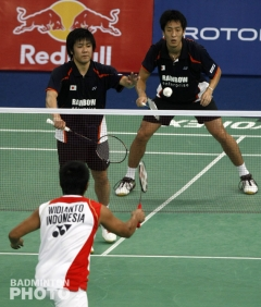 Hiroyuki Endo and Noriyasu Hirata - Thomas Cup 2010