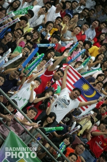 Fans at the 2010 Malaysia Open