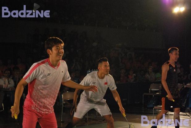 Lee Yong Dae, Lin Dan, Lee Chong Wei