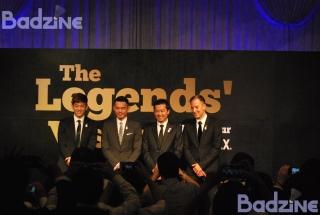 Lee Yong Dae, Lin Dan, Taufik Hidayat, Peter Gade