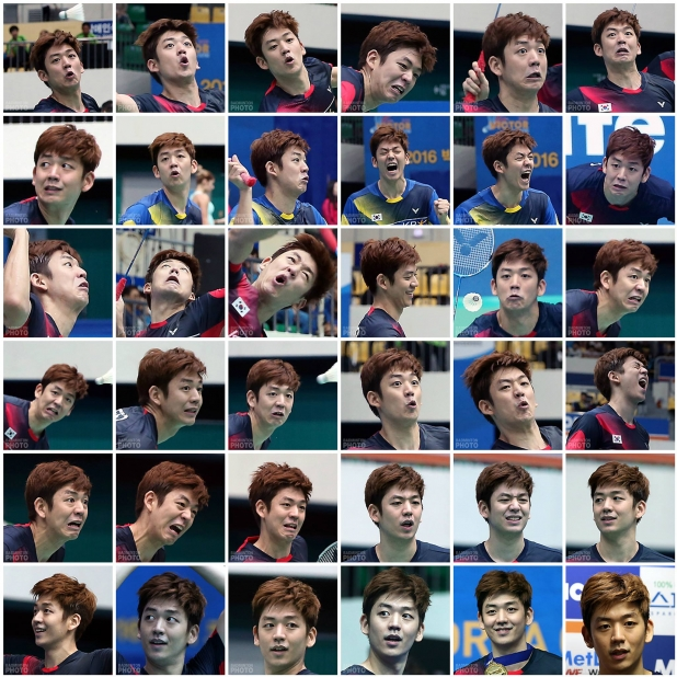 The Many Faces of Lee Yong Dae