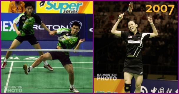 Malaysia and China Opens 2007