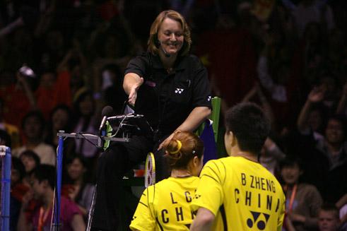 badminton umpiring