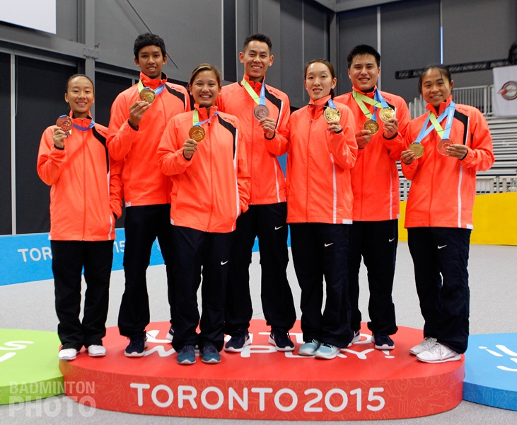 Team USA for Rio 2016, taken at the 2015 Pan Am Games