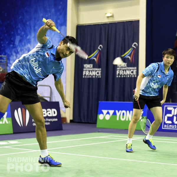 Tontowi Ahmad / Liliyana Natsir (INA, WR#3)