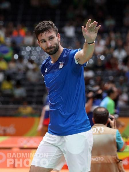 Petr Koukal at the Rio Olympics