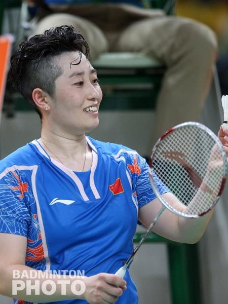 Yu Yang at the Rio Olympics