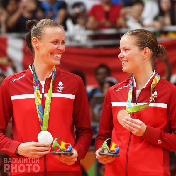Kamilla Rytter Juhl / Christinna Pedersen (DEN, Silver)