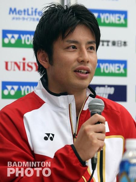 Kenichi Hayakawa at the Japan Open