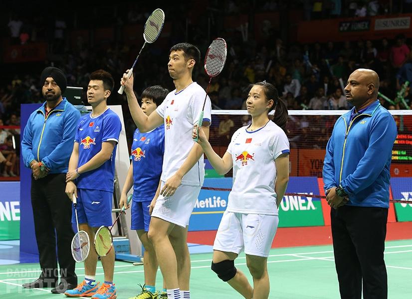 Zheng Siwei / Chen Qingchen (WR#1, CHN), Lu Kai / Huang Yaqiong (WR#2, CHN)